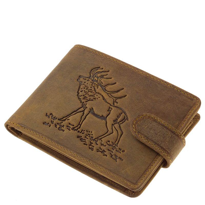 GreenDeed vadász pénztárca szarvas mintával