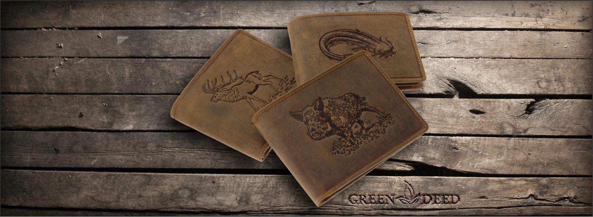 41b7fc622e8e GreenDeed - Bőr női és férfi pénztárcák